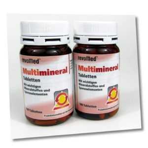 Multi Mineral 2 x 100 Tabletten Kapseln revoMed Multimineral Mineraltabletten