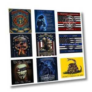 Überwurf Decke Patriotisch Geschenke USA Fahne Militär Soldat