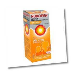 NUROFEN Junior Fieber- & Schmerzsaft Orange 100ml PZN 07776465