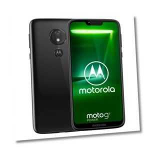 "Handy Smartphone Moto G7 Power 4/64GB Dual SIM Schwarz 6,2"" 1520 x..."