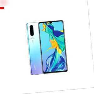Huawei P30 128GB / Breathing Crystal Aurora Schwarz / Händler DE /...