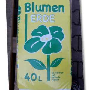 Pflanzerde 40 L Blumenerde 40 Liter Gartenerde Pflanzenerde Humus Erde NEU