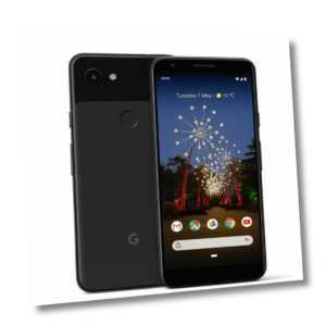 "Google Pixel 3a 64GB 12,2 MP 5,6"" Smartphone ohne Simlock schwarz - NEU"