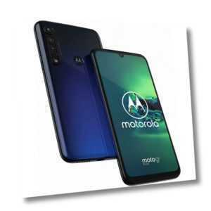 Motorola Moto G8 Plus 64GB Blue Android Smartphone Handy ohne...