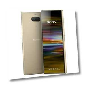 Sony Xperia 10 Plus L4213 64GB Gold Android Smartphone Handy ohne ...