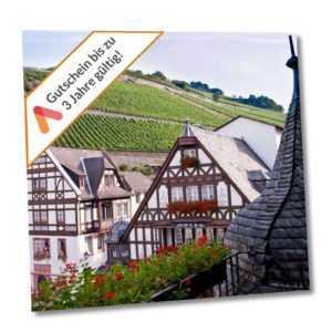 Kurzurlaub Rheingau 4 Tage im 4 Sterne Akzent Fachwerk Hotel 2 Personen Wellness