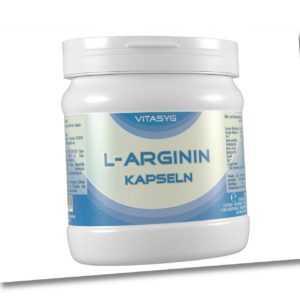 Vitasyg L-Arginin Kapseln - 450 Kapseln Aminosäure Eiweiß Protein