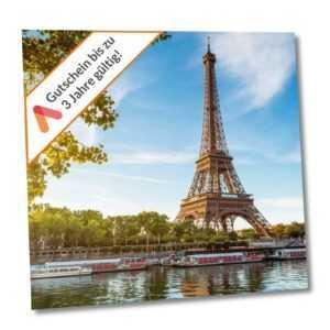 Städtereise Paris 4 Tage Hotel Olympic für 2 Personen Hotelgutschein Kurzurlaub