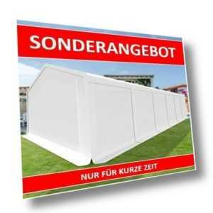 6x12m Lagerzelt Zeltgarage Unterstand Weidezelt Zelthalle Heulager SMART PE