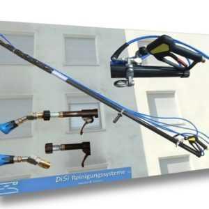 Fassadenreinigung CARBON HD Teleskoplanze Kärcher Kränzle Hochdruckreiniger