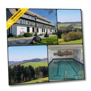 Kurzurlaub Sauerland 3 Tage 2 Personen 4* Hotel Gutschein Wellness Halbpension