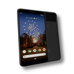 Google Pixel 3a GA00750 Smartphone 64GB Just Black *Neu + Versiegelt* OVP