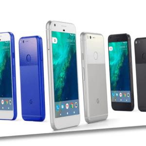 "Google Pixel 2016 - 32GB - 5""Amoled Android 7 Nougat Schwarz / Silber - TOP"