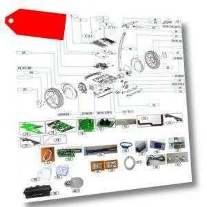 Ersatzteil Ninebot E+ Ersatz-Akku 620 Wh für Ninebot E+ weiß by Segway 2700Watt