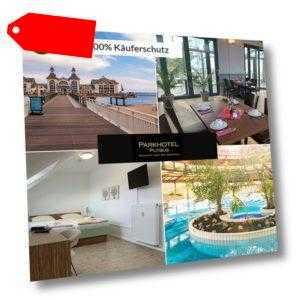 11 Tage Urlaub auf Rügen im Parkhotel Putbus mit Halbpension