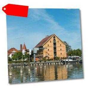 Abenteuerurlaub 3-6 Tage Mecklenburger Seenplatte @slube Stadthafen Neustrelitz