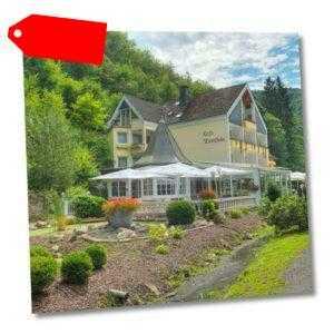 Bad Bertrich Eifel 3* Hotelgutschein für 2 Personen 2 oder 3 Nächte Ü/F Therme