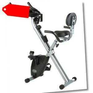 Bike ´n Tube Fitness-Rad Sitz-Heimtrainer klappbar Rückenlehne Trainingsbänder