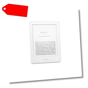 Amazon Kindle 2019 eReader Wi-Fi mit Spezialangeboten weiß B07FPX2YDK