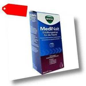 WICK MediNait Erkältungssaft 180ml PZN 1689009