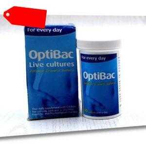 OptiBac Für Jeden Tag 5 Mrd Bakterienkulturen 90 Kapseln