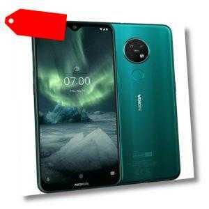Nokia 7.2 LTE Dual Sim 64GB grün Android Smartphone Handy ohne...