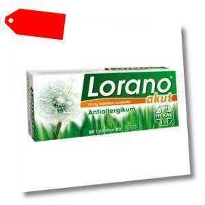 Lorano akut 50stk PZN 07222904