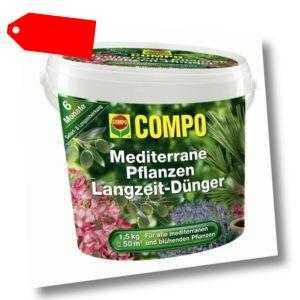 COMPO Langzeit Mediterrane Pflanzen Dünger 1,5 kg