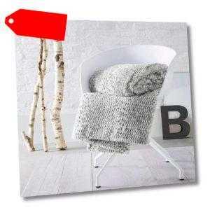 Bugatti Wohndecke, grau