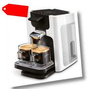 PHILIPS Senseo Quadrante HD7865/00 Kaffeepadmaschine B-Ware