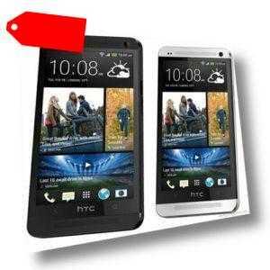 Neu Unge枚ffnet HTC One M7 - 32GB - Smartphone INT'L VERSION/Silber/32GB