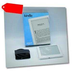 """Amazon Kindle 6"""" (15,2 cm) Touchscreen ohne Licht WLAN weiß mit OVP"""