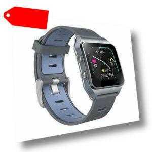 GPS Smartwatch mit 17 Sportmodi Activity Tracker IP68 Wasserdicht (Dunkelblau)