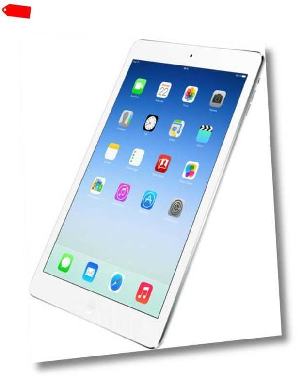 "Apple iPad Air 32GB silber LTE iOS Tablet 9,7"" Retina Display 8 Megapixel"