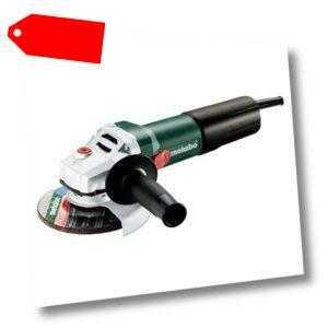 Metabo Winkelschleifer WQ 1100-125 1100W Ø 125mm mit M-Quick S-automatic Zubehör