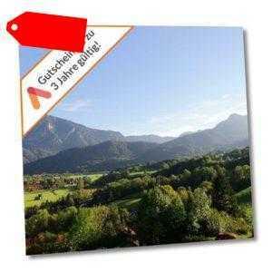 Kurzurlaub Bad Reichenhall 3 Tage für 2 Personen Top Hotel Gutschein Wellness