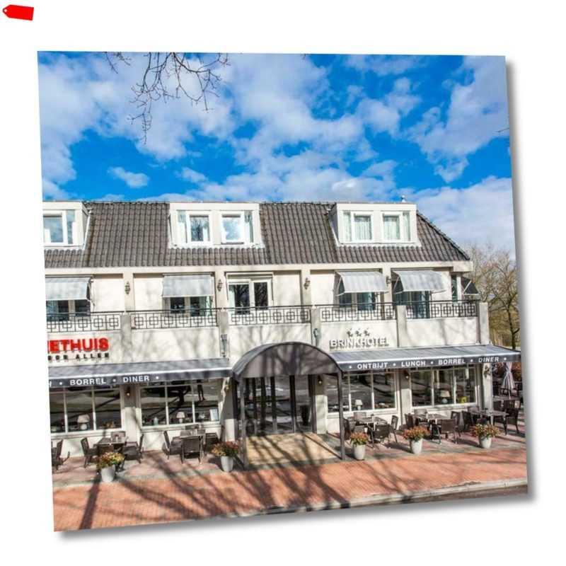 Holland Zuidlaren Hotel Gutschein für 2 Personen 2 bis 5 Nächte mit Abendessen