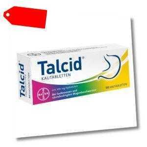 Talcid 50stk PZN 02530498
