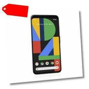 Google Pixel 4 64 GB Just Black Schwarz Ohne Simlock NEU + OVP
