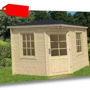 Tuindeco Gartenhaus Gerätehaus Blockhütte JOS 250 x 250 / 28mm
