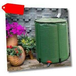 200 L Faltbares Regenfass Regentonne klappbar Wassertank Deckelfass Wasserfass