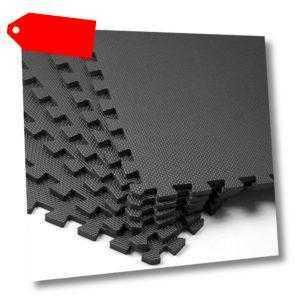 18 tlg. Puzzlematte Bodenschutz Matte Schutzmatte Fitnessmatte Unterlegmatte EVA