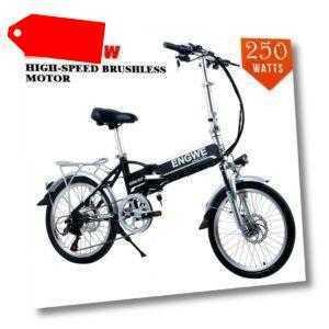 """Elektrofahrrad 20"""" Elektro Klapprad Pedelec 48V Shimano E-Bike Faltrad Fahrrad"""