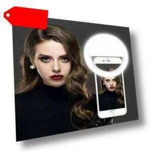 36 LED Selfie Licht Ringleuchte mit 3 Einstellbare Helligkeiten für alle Handys