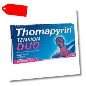 Thomapyrin Tension Duo 400 mg/100 mg Filmtabletten 18stk PZN 15420191