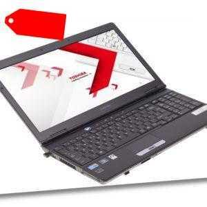 """Toshiba Satellite S500 Notebook 15"""" i3-380M (2x2,53GHz) 4GB RAM 120GB SSD"""