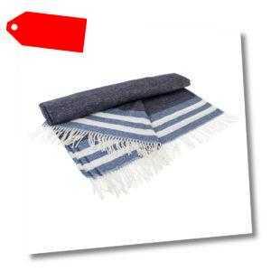 Gant Home Decke Überwurf Wohndecke Kuscheldecke Tone Stripe Throw