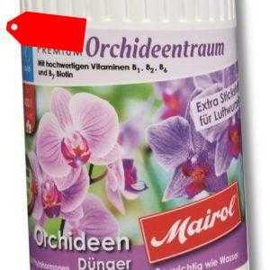 9124 Mairol ® Orchideen Dünger Liuid 1L PREMIUM Orchideentraum Pflanzennahrung
