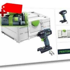 GRATIS AKKU: Festool TID 18-Basic Schlagschrauber 576481 - ohne Ladegerät
