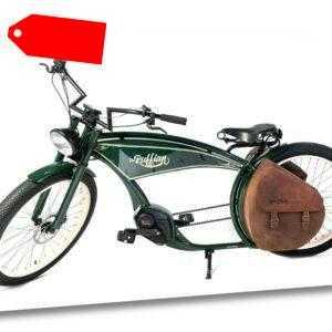 "Ruff Cycles THE RUFFIAN 26"" Pedelec E-Bike Cruiser 2020 CX 300Wh vintage grün"